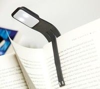 Фото Лампа-закладка Moleskine Booklight для книг черная ER1BLA