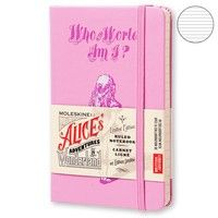 Фото Блокнот Moleskine Alice's Adventures in Wonderland маленький розовый LEAL01MM710