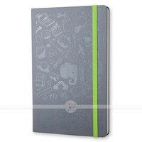 Фото Блокнот Moleskine Evernote Smart средний серый QP060A1EVER