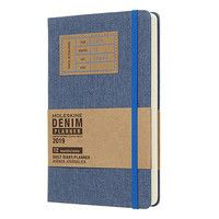 Фото Ежедневник Moleskine 2019 Denim средний синий DDN12DC3Y19